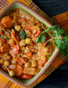 This one-pot, Vegan Spicy Peanut Stew with Rice and Chickpeas is flavourful, satisfying and nutritious! Gluten-free, freezes well and is even better next day! Perfect for food prep or ready in under 30 minutes on a busy weeknight. So cozy! Spicy Peanut Stew with Rice and Chickpeas http://runningonrealfood.com/vegan-spicy-peanut-stew/