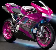 Pink Ducati from Transformers Movie