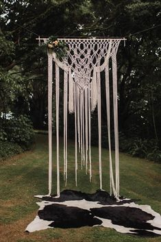 This wedding at Hedges Estate in South Auckland is truly the ultimate bohemian wedding with tons of amazing florals and a crocheted bridal gown! Bohemian Wedding Reception, Bohemian Wedding Decorations, Wedding Altars, Bohemian Wedding Inspiration, Wedding Ceremony, Wedding Bride, Wedding Ideas, Forest Wedding, Wedding Colors