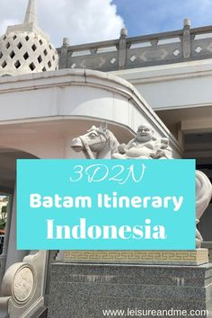 Here is our Batam Itinerary for the beutiful Batam Island of Indonesia.If you travel Indonesia for a quick getaway,Batam is perfect!