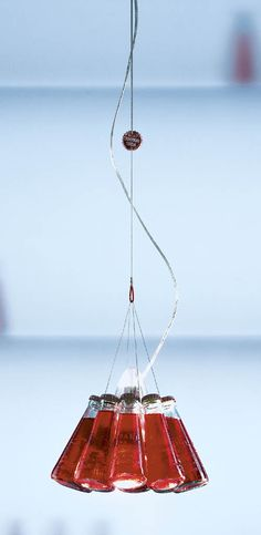 "Lamp, ""Campari Light"" by Ingo Maurer"
