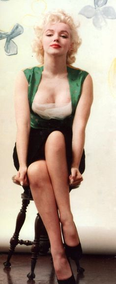 Marilyn, of course. Is there anyone who doesn't find this tragic beauty inspiring?