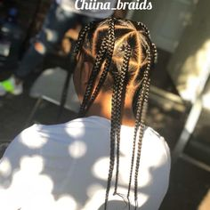 Boy Box Braids, Cornrows With Box Braids, Braids For Boys, Boys Cornrows, Plats Hairstyles, Cornrow Hairstyles For Men, Braid Styles For Men, Hair And Beard Styles, Hair Styles