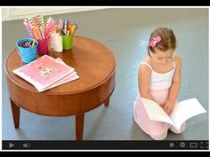 Watch the video. Share with friends. #Crafterina  Help us spark imaginations across the globe to #read, #create, and #dance! http://bit.ly/crafterina