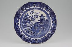 Burleigh - Willow - Blue - chinaware
