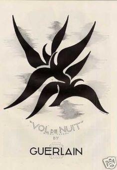 """Guerlain """"Vol de nuit"""" Perfume (1937)"""