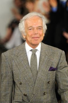 Designer Ralph Lauren walks the runway at the Ralph Lauren Fall 2012 fashion show during Mercedes-Benz Fashion Week at Skylight Studio on February 16, 2012 in New York City.