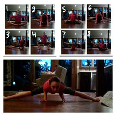 How to do the middle splits!