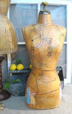a great vintage mannequin or dress form