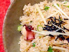 新生姜のタコ飯の画像