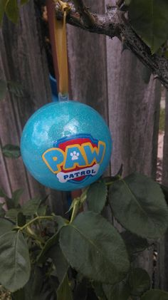 Paw patrol glittered Christmas ornament by LittleRedFoxes on Etsy