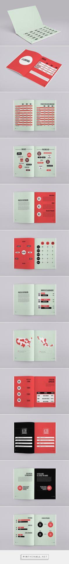 Annual report for Bimbo. Book Design, Layout Design, Print Design, Graphic Design, Design Editorial, Editorial Layout, Layout Book, Annual Reports, Info Graphics