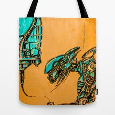 Mechanical Balloons Tote Bag by Nuam - $22.00