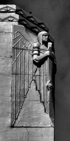 on the original los angeles airport (in glendale, ca)-  Art Deco