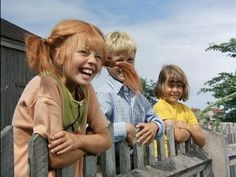 These are the REAL Pippi, Annika and Tommy! Pippi Långstrump by Astrid Lindgren