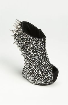 Giuseppe Zanotti Spiked Crystal Bootie | Nordstrom