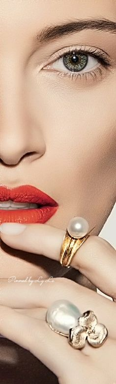 . My Better Half, Glamour Beauty, Lace Jewelry, Pearl And Lace, Friends Are Like, Style And Grace, Love And Light, Septum Ring, Face Makeup