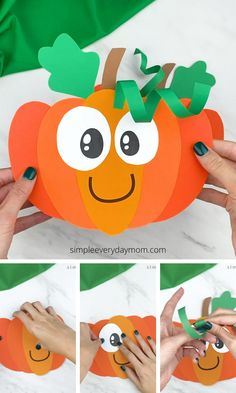 Fall Arts And Crafts, Halloween Arts And Crafts, Preschool Arts And Crafts, Theme Halloween, Daycare Crafts, Classroom Crafts, Halloween Crafts For Kids, Craft Activities For Kids, Toddler Crafts