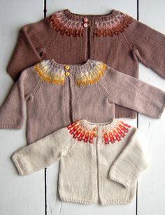 Baby Girl Fair Isle Cardigan Pattern