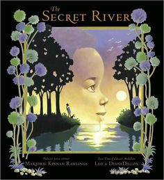 """illustrations by leo and diane dillon from """"the secret river""""."""