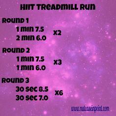 HIIT Treadmill Run