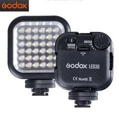 Only US$22.99, buy best Godox LED36 5500~6500K Photography Video LED Light Lamp for DSLR Camera Camcorder mini DVR sale online store at wholesale price.US/EU warehouse.