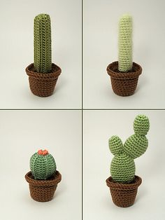 Ravelry: Cactus Collection 2 pattern by June Gilbank