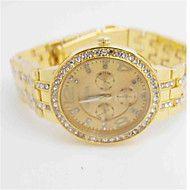 Herren Modeuhr Simultan? Diamant Uhr Quartz Legierung Band Bequem Schwarz Blau Braun Gold Silber Rotgold