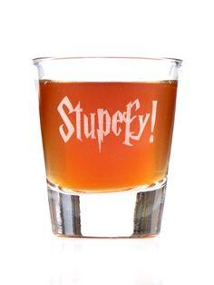 Stupefy Harry Potter Shot Glass