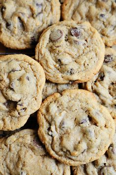 Vanilla Pudding Chocolate Chip Cookies. I made these cookies last night and honestly these are the best cookies I have ever made! I only used 2 cups of flour though, it didn't really need the 1/4 cup added because it was getting way to dry! baked them for 9 mins and they were AMAZING! made a whole lot more then 2 dozen too, and I didn't make small cookies.