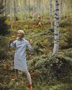 The fashion of Finnish design house Marimekko 1966 by Tony Vaccaro Hello Spring, Spring Day, Finland Culture, Marimekko, Photo Archive, Fashion Studio, Fashion Photography, Photoshoot, Instagram Posts
