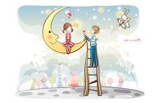 Animated Cartoon | Cartoon wallpaper cute couple-003_1920x1200_Cartoon_Free wallpaper ...