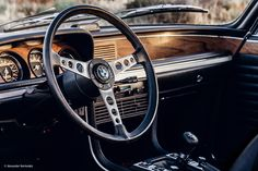 This is just a really nice classic BMW coupé—until you take it for a spin