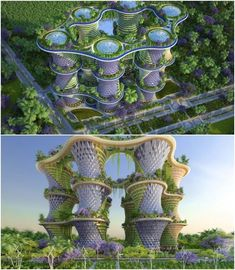 Hyperions-Stadt ist autark - Post Crisis Banking Architecture - The (Vi Chinese Architecture, Architecture Portfolio, Futuristic Architecture, Concept Architecture, Sustainable Architecture, Contemporary Architecture, Landscape Architecture, Architecture Design, Foster Architecture