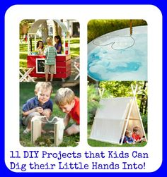 11 DIY Projects that Kids Can Dig their Little Hands Into! - The Staten Island family