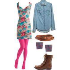 """""""summer winter."""" by idmarryjenny on Polyvore"""