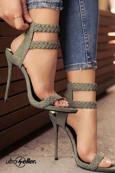 High Heels Shoes Vintage High Heel Shoes Peep Toe High Heel Sandals-shoes-Vinny's Digital Emporium Source by Ankle Strap High Heels, Platform High Heels, Black High Heels, High Heel Boots, Ankle Straps, Black Shoes, Peep Toe Shoes, Pumps Heels, Stiletto Heels