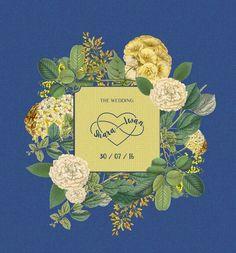 Infinity love wedding logo