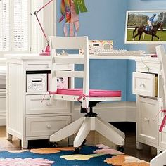 Desks, Computer Desks, Teen Desks, Small Desks & White Desks   PBteen