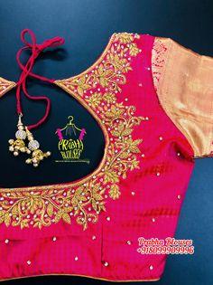 Zardosi Work, Work Blouse, Blouse Designs, Blouses, Fashion, Moda, Fashion Styles, Blouse, Fashion Illustrations
