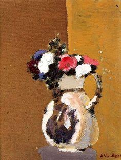 Edouard Vuillard, Bouquet in a White Pitcher on ArtStack #edouard-vuillard #art