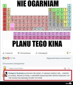 Probably The Best Page In The Universe Funny Memes, Hilarious, Jokes, Polish Memes, Copic Markers, Good To Know, Weight Loss Tips, Chemistry, Haha