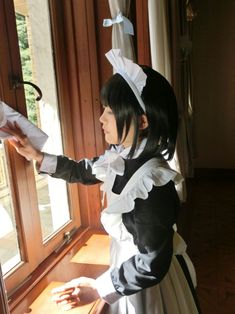 Victorian Maid, Staff Uniforms, Maid Cosplay, Maid Uniform, Asian Cute, Sissy Maid, Maid Dress, Harajuku Fashion, Girl Model