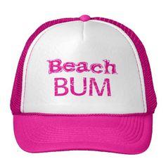 1454878debb Beach Hat  zazzle  beachbum  hats Simply Southern