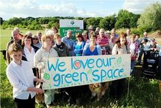 A group of local residents fighting to save an 'urban green oasis' in Pinhoe, Exeter, from development and preserve it for future generations have won the right to have their day in court. Exeter, Save The Planet, Preserve, Oasis, Battle, Environment, Community, Urban, Group