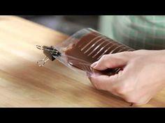 Como fazer decoração de chocolate em acetato | Creative