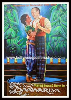 Custom Bollywood poster art from our expert team of old bollywood movie poster painters using quality oil paints are best wedding decor Old Bollywood Movies, Bollywood Posters, Poster Maker, Poster On, Indian Movies, Beautiful Paintings, Hd Photos, Art Oil, Customized Gifts