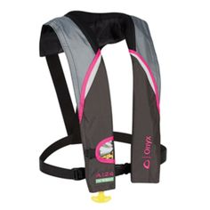 Onyx A-24 In-Sight Automatic Inflatable Life Jacket - Pink/Grey