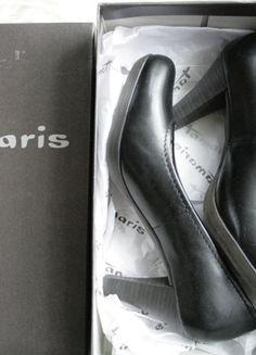 Kaufe meinen Artikel bei #Kleiderkreisel http://www.kleiderkreisel.de/damenschuhe/hohe-schuhe/129367692-elegante-schwarze-pumps-von-tamaris-in-grosse-38