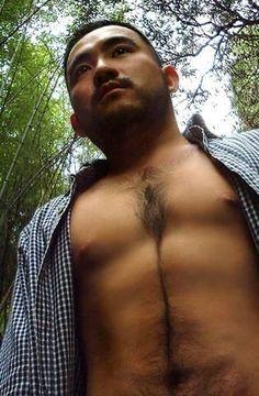 Higezura - Beefy Bearded Hairy J-men Japanese Men, Male Beauty, Asian Men, Nude